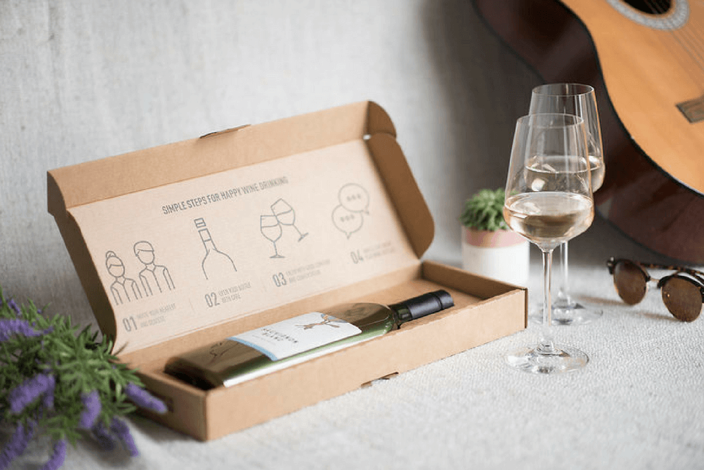 Garcon Wine bottle in a box